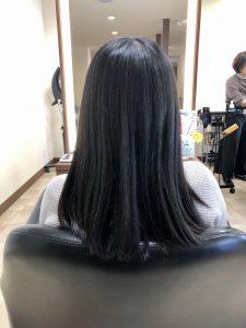 広島県廿日市市にある美容室・美容院のプロッソル廿日市店ディレクターの寺岡和人のお客様ヘアカラーで黒髪卒業